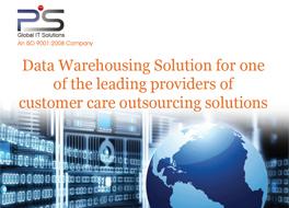 Data Warehousing Solution