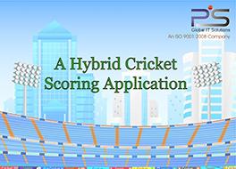 A Hybrid Cricket Scoring Application