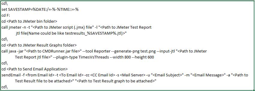 JMeter Test Report Generation- Single Step Solution