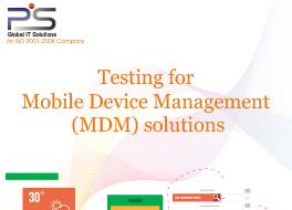 MDM Testing