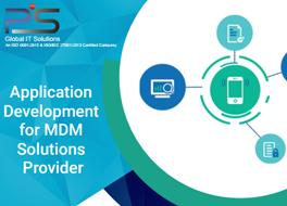 Application Development for MDM Domain