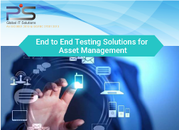 End to End Testing Solutions for Asset Management