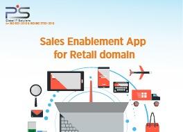 Sales Enablement App for Retail Domain